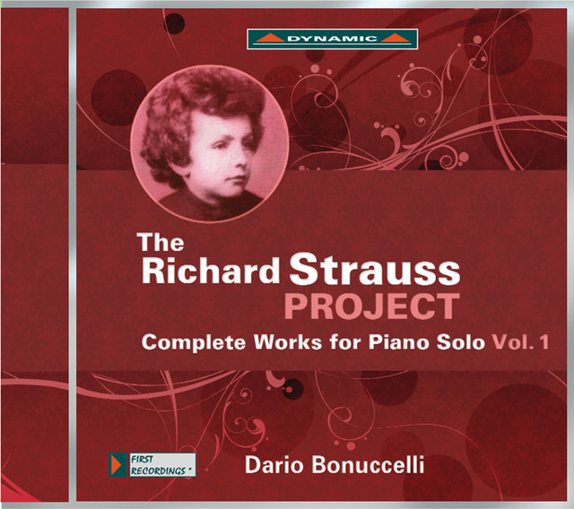 The Richard Strauss Project: Complete Works for Piano Solo, Vol. 1 Albumcover