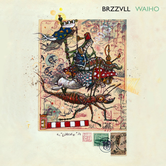 Album cover for Waiho by BRZZVLL