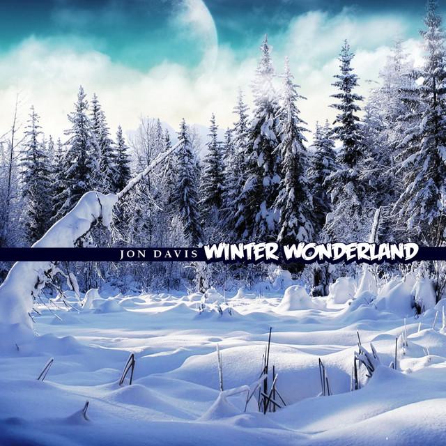 John Davis Walking In Winter Wonderland album cover
