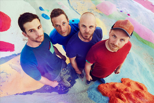 Coldplay Moving to Mars cover