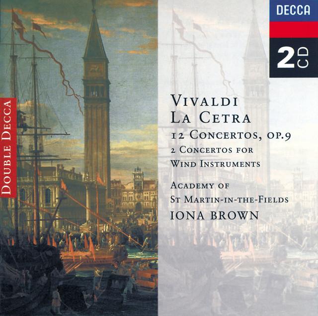 Vivaldi: La Cetra, Op. 9/Wind Concertos Albumcover