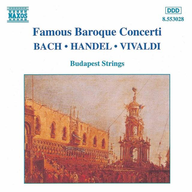 Baroque Concertos (Famous) Albumcover