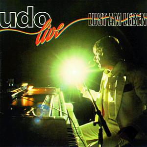 Udo Live - Lust am Leben Albumcover