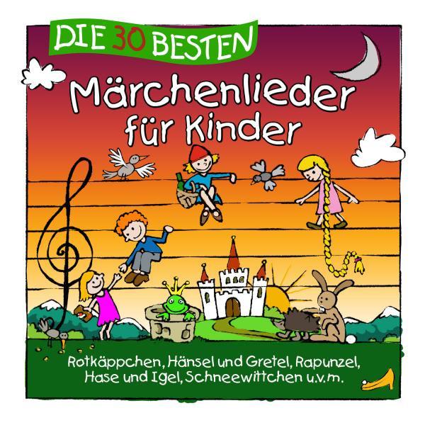 Die 30 besten Märchenlieder für Kinder Albumcover