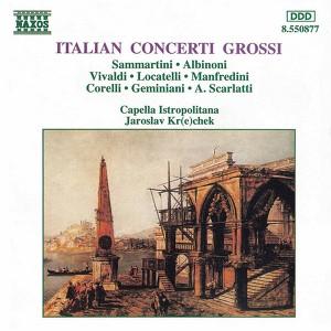 Italian Concerti Grossi Albumcover