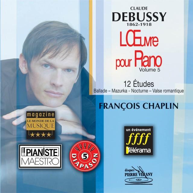 Debussy - L'oeuvre pour piano, vol.5 Albumcover