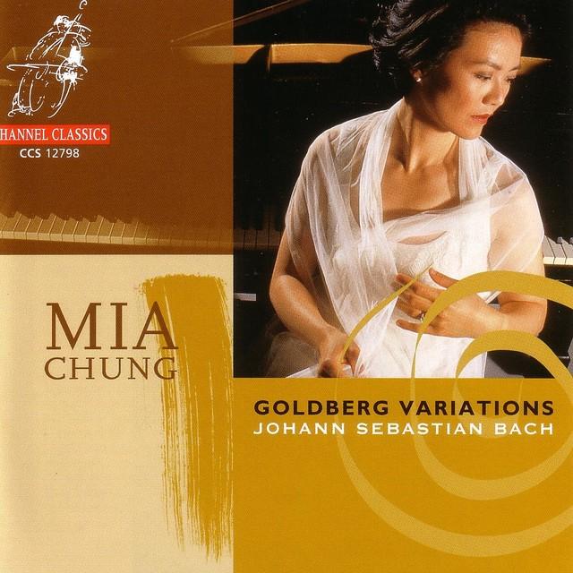 Goldberg Variations BWV988 Albumcover