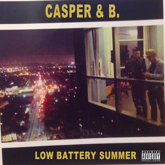 Album cover for Low Battery Summer by Casper and B