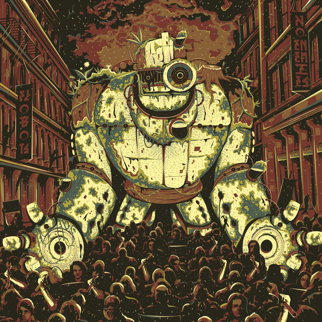 Album cover for Noenemies by Flobots