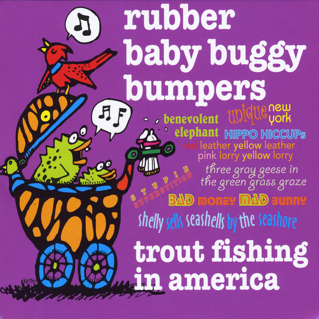 Rubber baby buggy bumpers by trout fishing in america on for Trout fishing in america