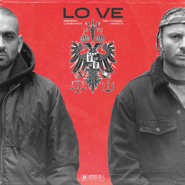 Album cover for LO VE by Egreen, Nex Cassel