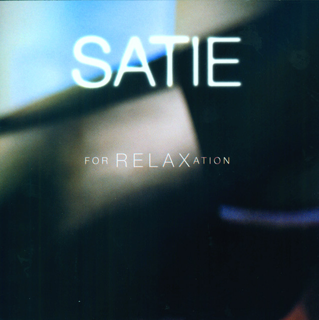Satie For Relaxation Albumcover