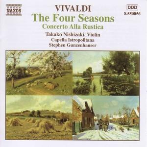 Vivaldi: 4 Seasons (The) / Concerto Alla Rustica Albumcover