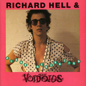 Richard Hell Blank Generation cover