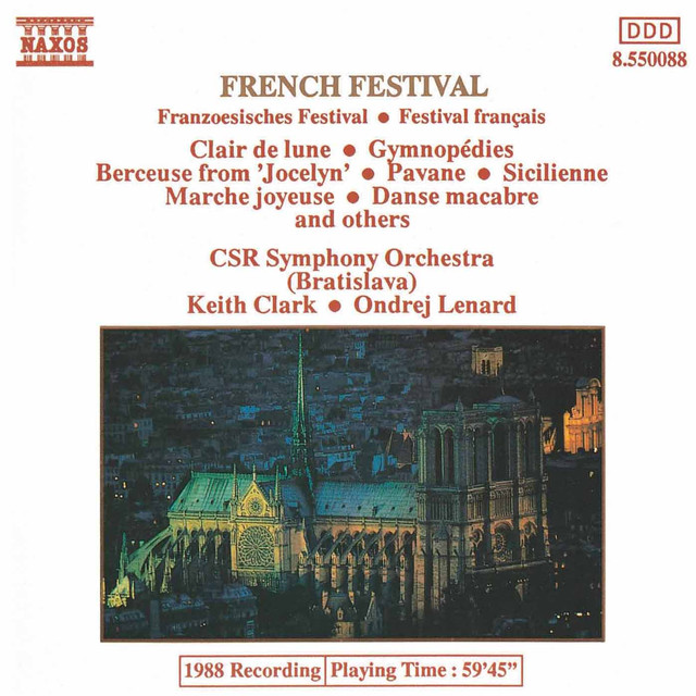 Suite bergamasque: III  Clair de lune (arr  A  Reed): Suite