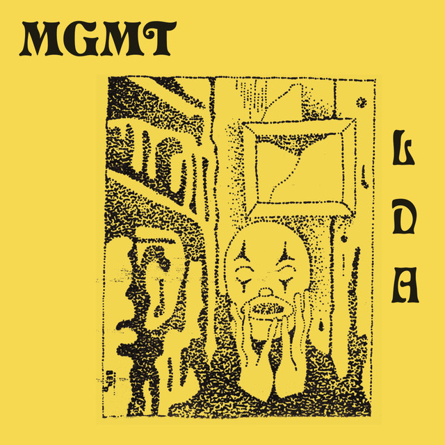 Album cover for Little Dark Age by MGMT