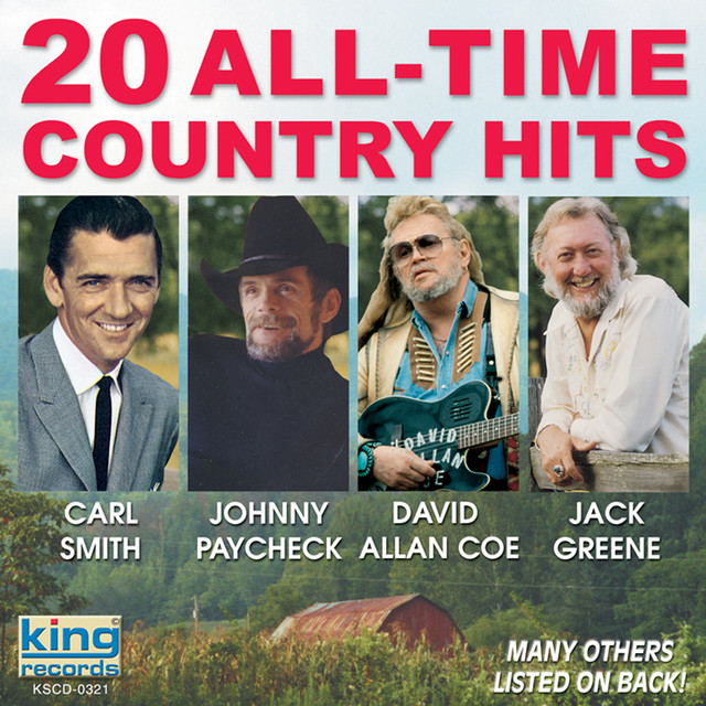 Various Artists 20 All-Time Country Hits album cover
