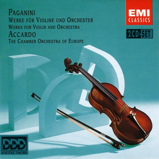 Paganini: Works for Violin and Orchestra Albumcover