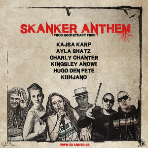 Kajsa Karp, Skanker Anthem på Spotify