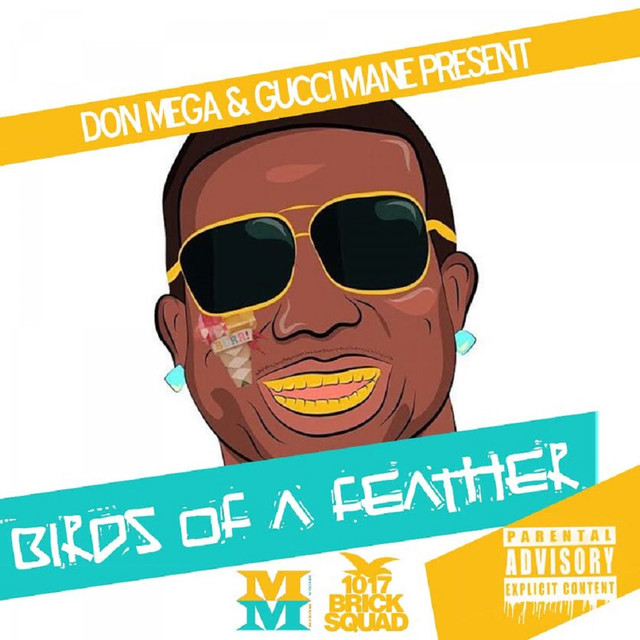 Album cover for Birds of a Feather 2 by Don Mega, Gucci Mane