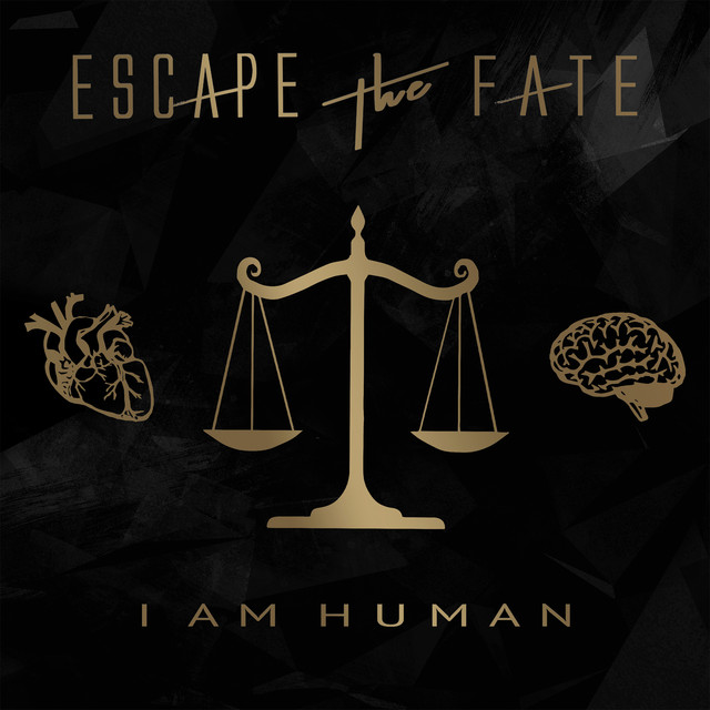 Album cover for I Am Human by Escape the Fate
