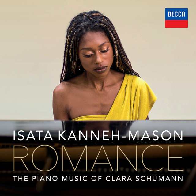 Album cover for Romance – The Piano Music of Clara Schumann by Clara Schumann, Isata Kanneh-Mason