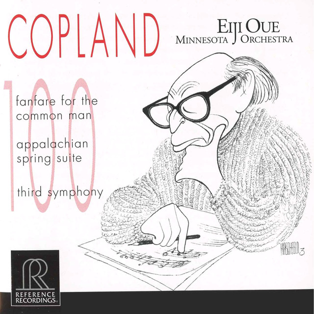 Copland: Fanfare for the Common Man, Appalachian Spring & Symphony No. 3 Albumcover
