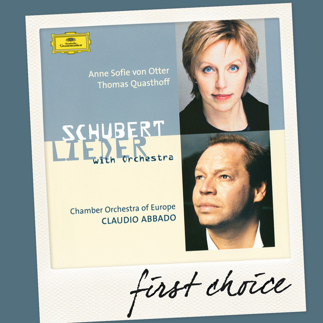 Schubert: Lieder With Orchestra