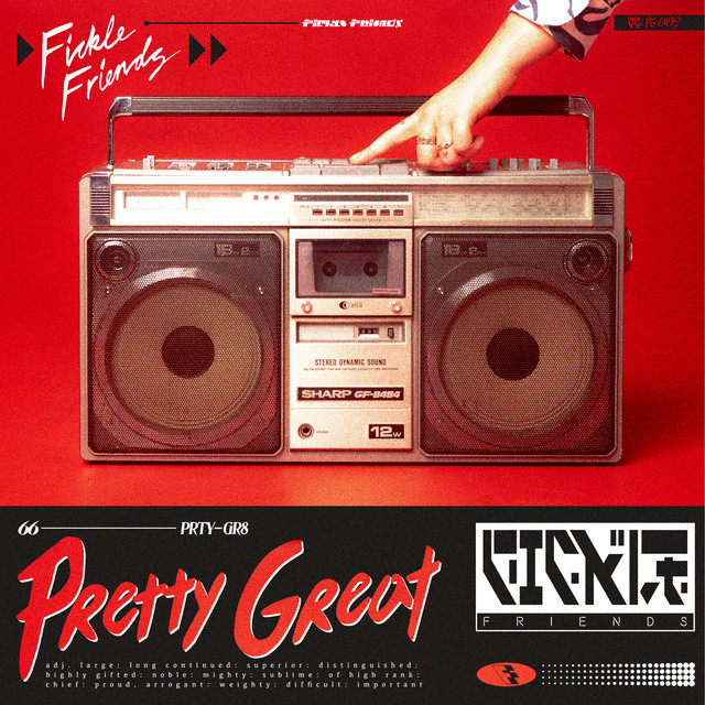 Image result for spotify fickle friends pretty great