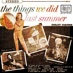 Classic and Collectable - Shelley Fabares - The Things We Did Last Summer album