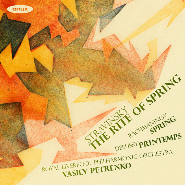 Album cover for The Rite of Spring by Igor Stravinsky, Vasily Petrenko, Royal Liverpool Philharmonic Orchestra