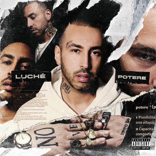 Album cover for Potere by Luche