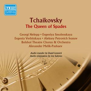 Tchaikovsky: Pique Dame (The Queen of Spades) Albumcover