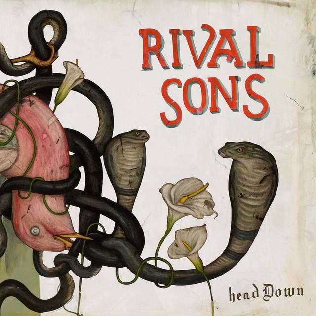 Skivomslag för Rival Sons: Head Down