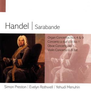 Handel Sarabande Albümü