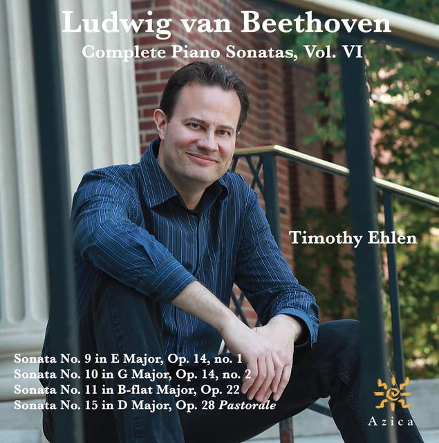 Beethoven: Complete Piano Sonatas, Vol. VI Albumcover