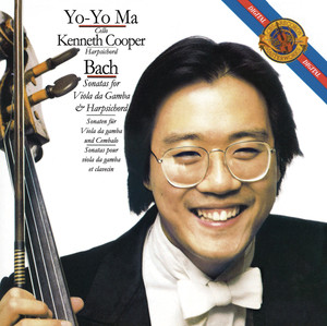 Bach: Sonatas for Viola da Gamba and Harpsichord (Remastered) Albumcover