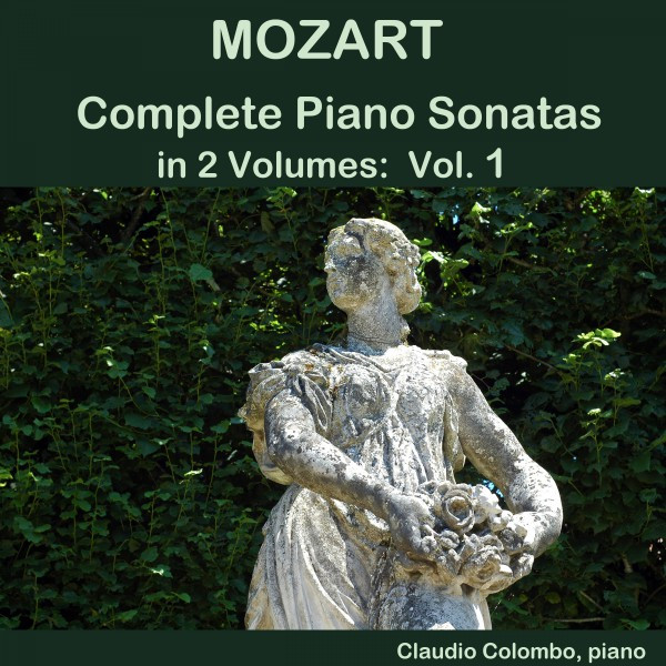 Mozart: Complete Piano Sonatas in 2 Volumes, Vol. 1