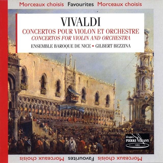 Vivaldi : Concertos pour violon & orchestre Albumcover