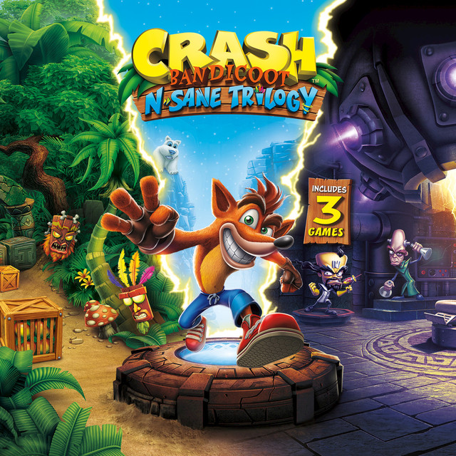 Music from Crash Bandicoot N. Sane Trilogy