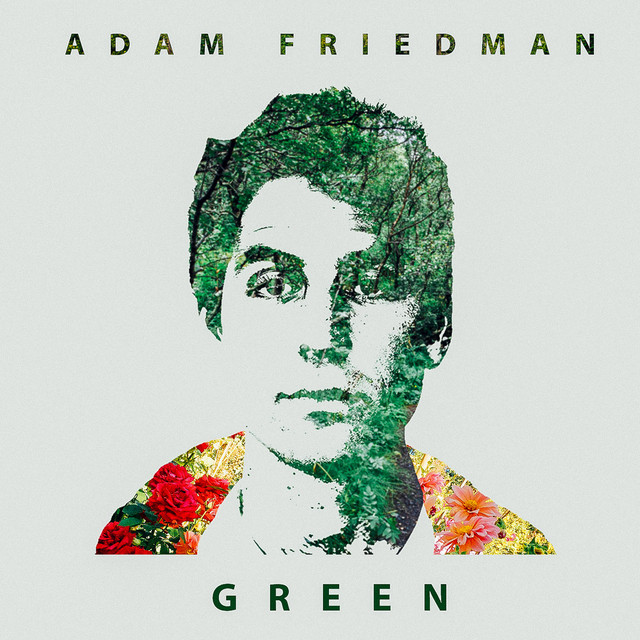 Album cover for Green by Adam Friedman
