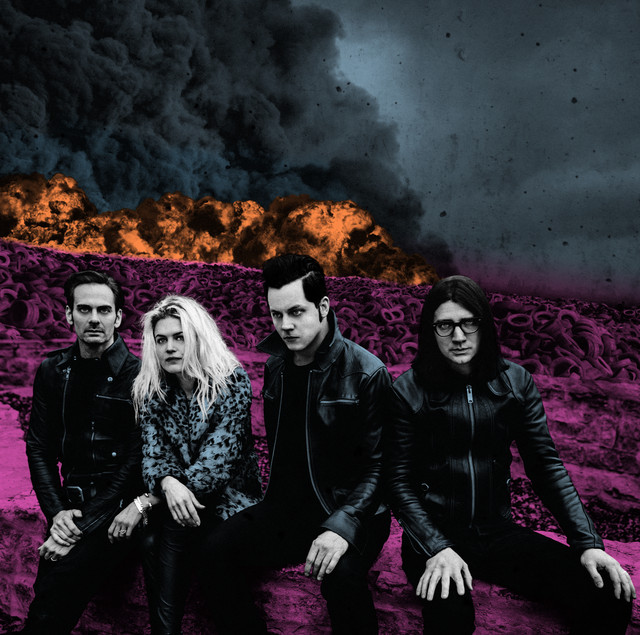 The Dead Weather COP AND GO album cover