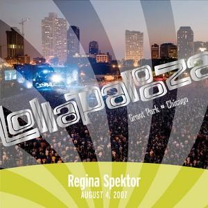 Live at Lollapalooza 2007: Regina Spektor Albumcover