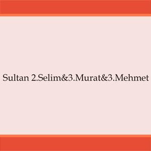 Sultan 2.Selim / 3.Murat / 3.Mehmet Albümü