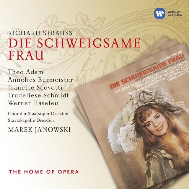 R. Strauss: Die Schweigsame Frau Albumcover