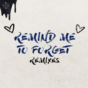 Remind Me to Forget (Remixes) Albümü