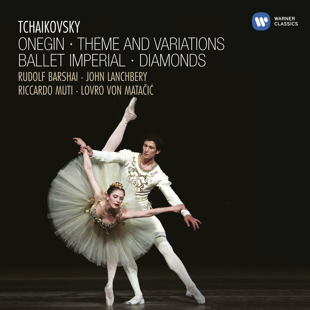 Tchaikovsky: Onegin, Theme and Variations, Ballet Imperial Albumcover