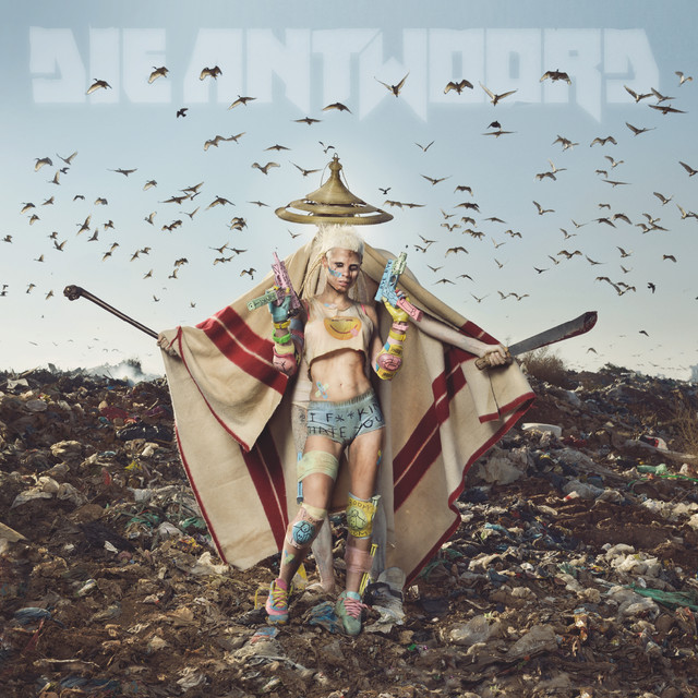 Album cover for Mount Ninji and da Nice Time Kid by Die Antwoord