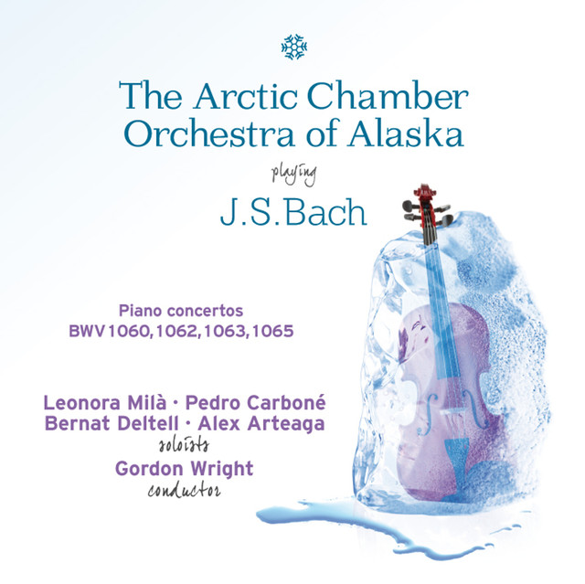 Bach: Piano Concertos Albumcover