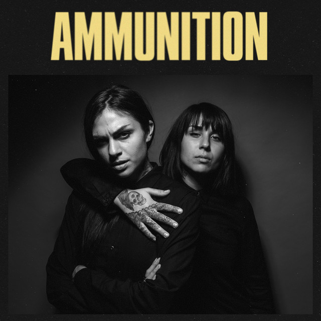 Album cover for Ammunition by Krewella
